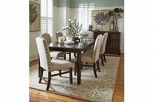 Lavidor Dining Room Table And Chairs Plus Buffet From