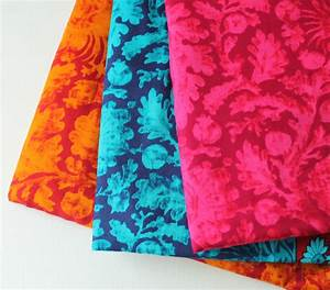 Indian cotton fabrics self print Indian fabric by ...