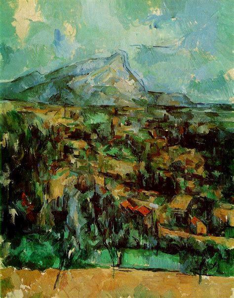 Paul Cezanne Best Paintings Webmuseum C 233 Zanne Paul The Mont Sainte Victoire And