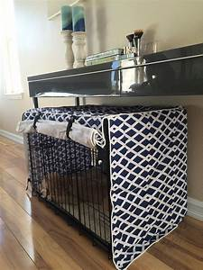 very fashionable diy dog crate covers invisibleinkradio With dog crate table cover