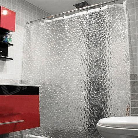 Translucent Shower Curtain - stylish shower bath curtain translucent free
