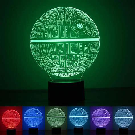 star wars death star 3d led light l 3d led star wars death star bulb illusion night light usb