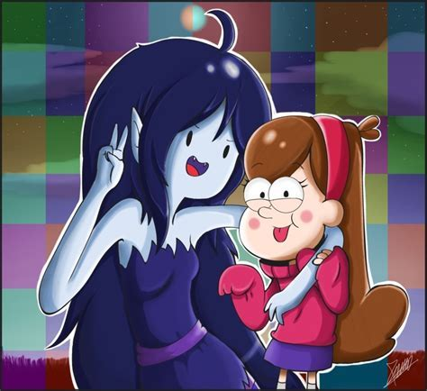 Marceline And Mabel Gravity Falls Photo Fanpop