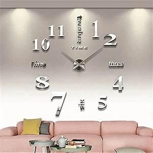 Wanduhren Modern Design : diy 3d wanduhren modern design acryl wanduhren wandtattoo ~ Michelbontemps.com Haus und Dekorationen