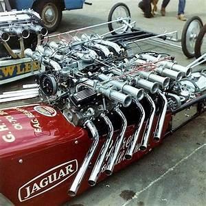 Jaguar V12 Drag Car