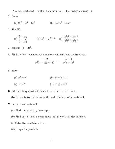 prentice algebra 1 worksheet answers 18 best images of kuta software infinite geometry