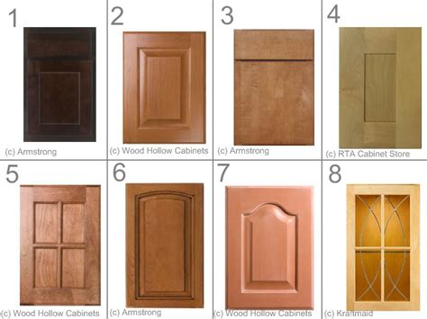 different types of kitchen cabinet doors 10 kitchen cabinet door styles for your dream kitchen