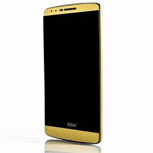 LG G3 Brushed Gold Skins Wraps and Cases from SlickWraps