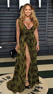 Mariah Carey suffers major fashion fail with Oscars red ...