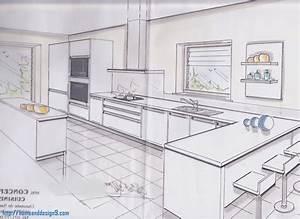 dessiner plan cuisine cuisine dessiner plan cuisine With logiciel pour dessiner des meubles