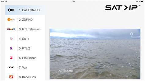tv ip so sehen sie fernsehen im ganzen haus bilder screenshots audio foto bild