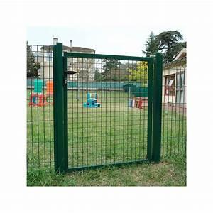 Portail 4 Metres Brico Depot : portillon de jardin grillag pr t poser ~ Dailycaller-alerts.com Idées de Décoration