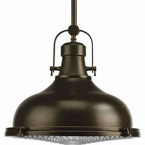 Progress lighting fresnel collection light oil rubbed