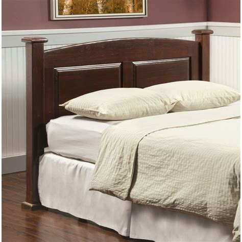 furniture of america legales curved panel headboard