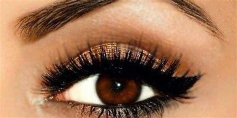 il makeup perfetto  risaltare gli occhi marroni roba