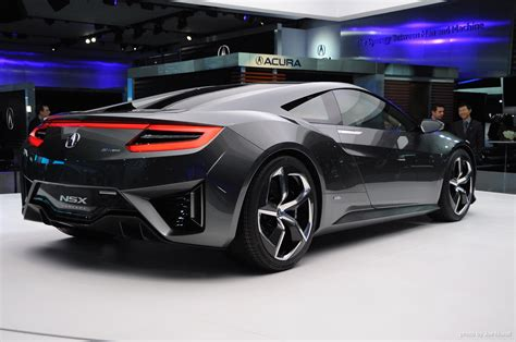 updated acura nsx concept live photos 2013 detroit auto show