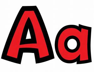 Classroom display resources stunning red card letters for Display lettering