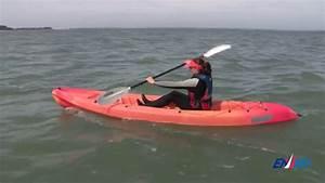Le U00e7on 2   Avancer-reculer Avec Un Kayak En Mer