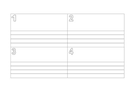 blank storyboard template  kayld teaching resources tes
