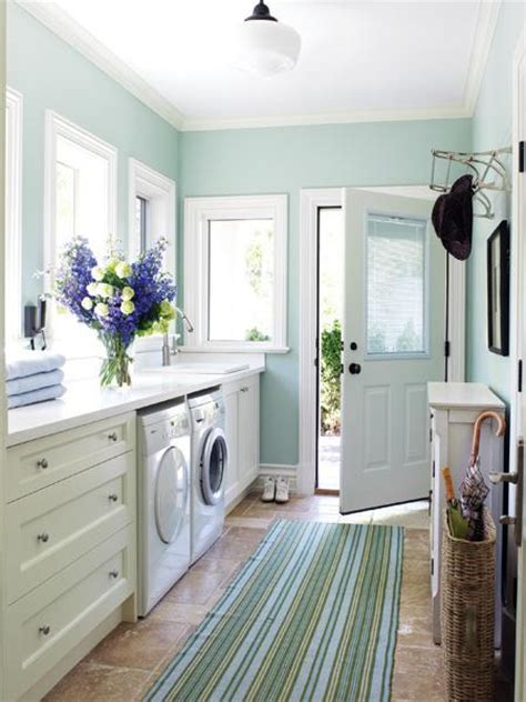 paint colors for laundry room walls laundry room in mud room contemporary laundry room bhg