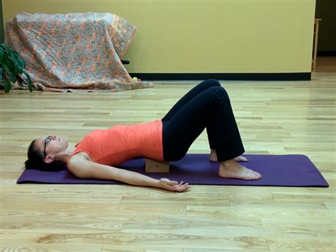 Boat Pose With A Block by Props Using A Block Jessbfit Llc