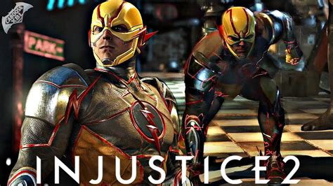 Injustice 2 Online  Reverse Flash Combos! Youtube