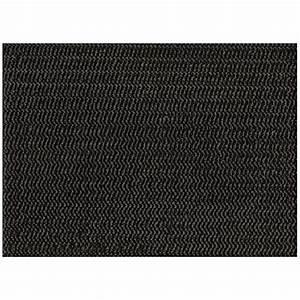 Tapis En Vinyle : tapis de table antid rapant en vinyle 2 1 37 m x 9m noir rona ~ Teatrodelosmanantiales.com Idées de Décoration