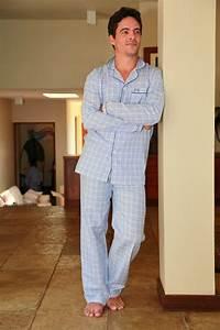 pyjama homme charles carreaux ciel l39orangerie With pyjama homme carreaux