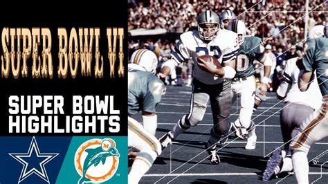 super bowl vi recap cowboys  dolphins nfl youtube