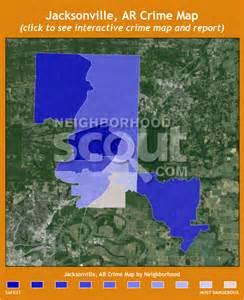 Crime Map of Jacksonville AR
