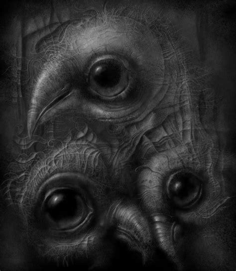 dark surreal art  wuwejo  art  jacek kaczynski