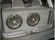 Lincoln Aviator Sub Box Lincoln Aviator Subwoofer Box