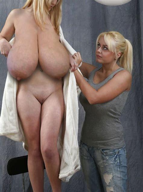 Tall girl huge tits