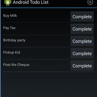 tutorial membuat android todo list aplikasi tutorial