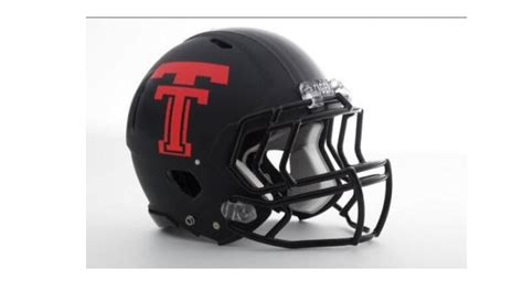 helmets coming  texas tech