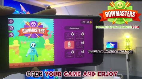 Bowmaster Hack Cheat Engine
