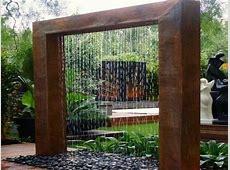 Indoor patio ideas, diy outdoor water wall fountain