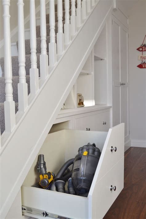 fitted furniture  stair storage deanery furniture