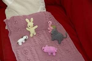 Petite Couverture Bébé : tricot irlandais couverture b b en patchwork tutoriel ~ Teatrodelosmanantiales.com Idées de Décoration
