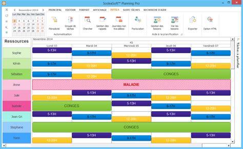 modèle de planning de travail modele planning horaire salarie ccmr