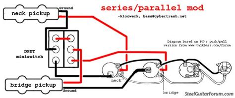 the steel guitar forum view topic needs help installing a series parallel switch