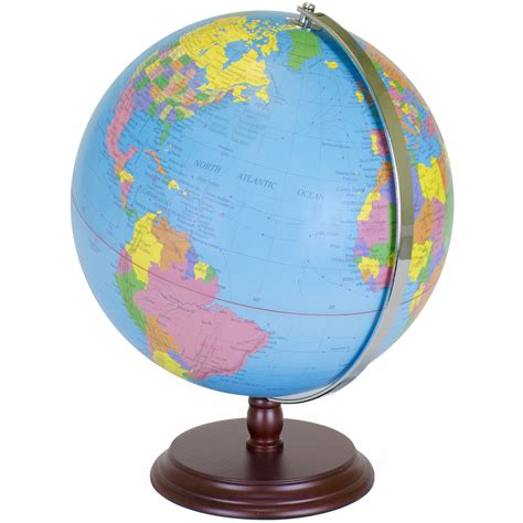 world globe   desktop atlas  antique stand