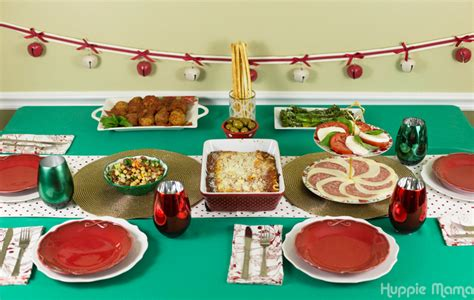 Yet these alternatives to the christmas table could not transform the typical american christmas dinner, losing ground in the. Simple Italian-American Christmas Dinner - Our Potluck Family