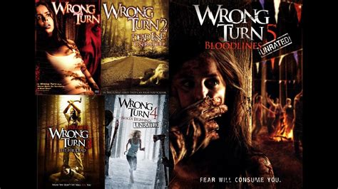 wrong turn unrated collection youtube