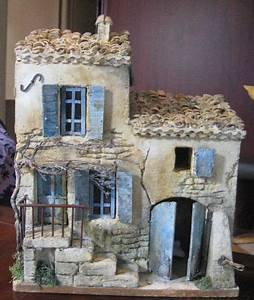 Maison De Noel Miniature : batiment miniature pinterest b timent cr che et creche provencale ~ Nature-et-papiers.com Idées de Décoration