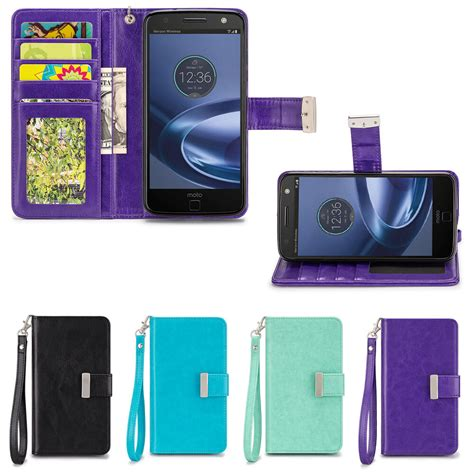 mobile flip cover izengate id cell phone folio wallet flip cover pu
