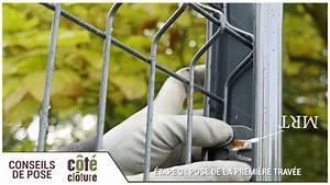 Grillage A Poule Bricomarche : cloture panneau rigide avec beton trendy poser des ~ Dailycaller-alerts.com Idées de Décoration