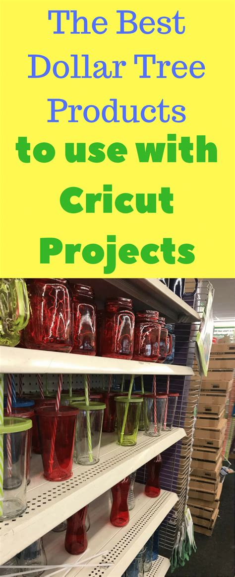 plastic tumblers best dollar store products to use for cricut projects