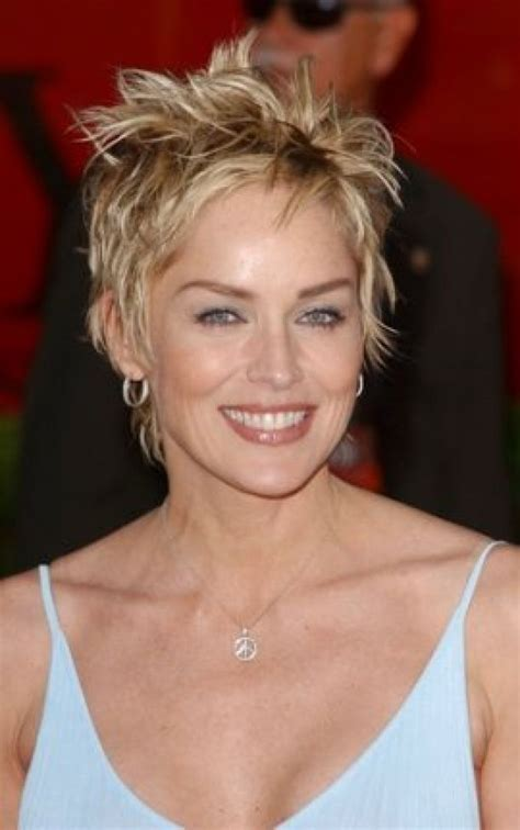 Sharon Stone Hair Stile In The Seventies To Download