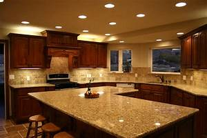 Kitchen laminate countertop materials options for